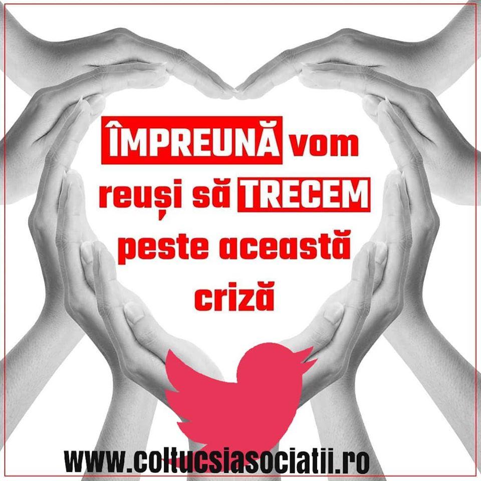Campania Trecem de criza impreuna #trecemdecrizaimpreuna