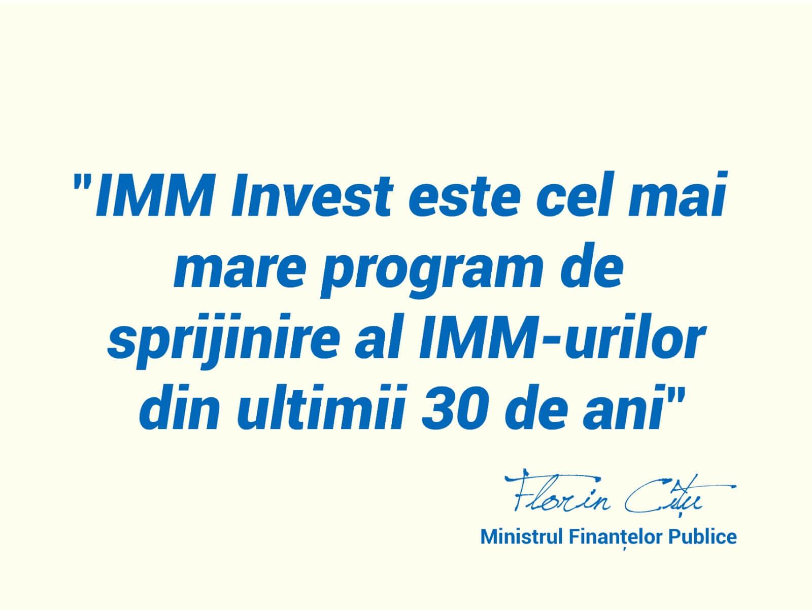 Consultanta platforma imm invest