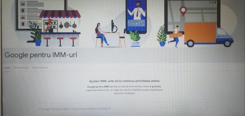 Google pentru IMM uri